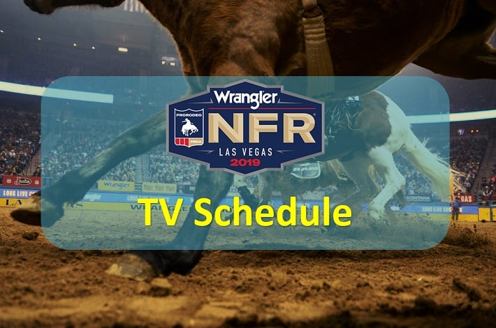 NFR TV Schedule 2019, Performance date, time
